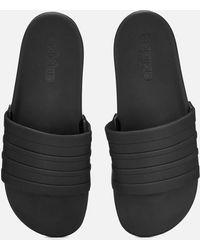 11f2051acf72 Lyst - adidas Adilette Comfort Slide Sandal in Red for Men