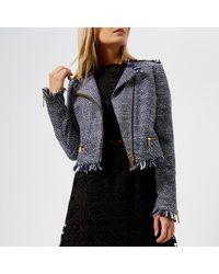 MICHAEL Michael Kors - Tweed Jacket - Lyst