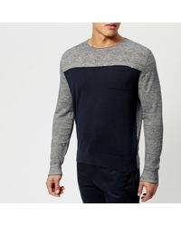 Armani Exchange - Knitted Pullover - Lyst