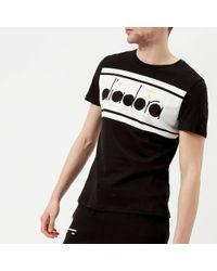 Diadora - Short Sleeve Spectra T-shirt - Lyst