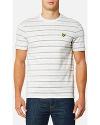 Lyle & Scott - Pick Stitch T-shirt - Lyst