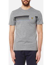 Lyle & Scott - Robson Graphic T-shirt - Lyst
