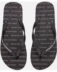 40fda85d774 Lyst - Men s Armani Exchange Sandals Online Sale