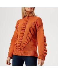 BOSS Orange - Ikara Knit Jumper - Lyst