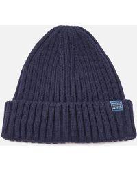 Joules Bamburgh Beanie Hat - Blue