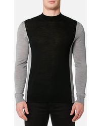 HUGO - Seito Knitted Jumper - Lyst
