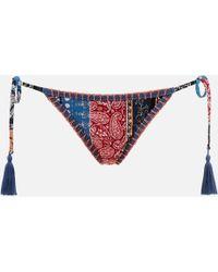 MINKPINK - Lily Tie Side Bikini Bottoms - Lyst