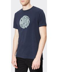 Pretty Green - Gillespie Logo T-shirt - Lyst