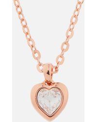 Ted Baker - Hannela: Swarovski Crystal Heart Pendant - Lyst