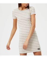 Superdry - Textured Pacific T-shirt Dress - Lyst