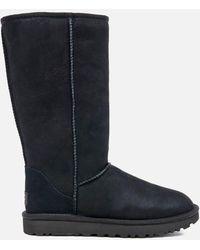 UGG Women's Classic Tall Ii Sheepskin Boots - Black