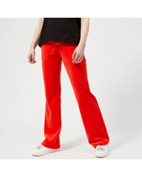 Juicy Couture - Velour Del Ray Pants - Lyst