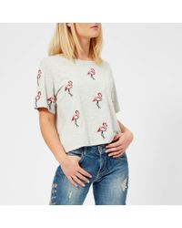 Guess - Flamingos T-shirt - Lyst