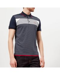 BOSS Green - Paddy 5 Striped Polo Shirt - Lyst