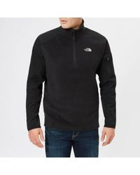 The North Face - Glacier Delta 1/4 Zip Fleece Jumper - Lyst
