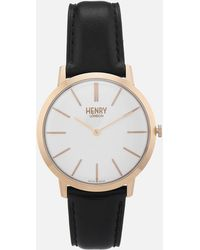 Henry London - 40mm Iconic Watch - Lyst