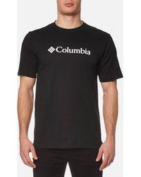 Columbia - Basic Logo T-shirt - Lyst
