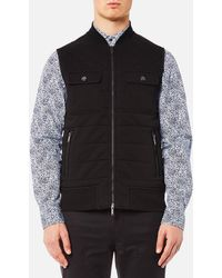 Michael Kors - Quilted Knitted Vest - Lyst