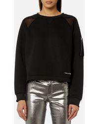 Versace Jeans - Sporty Sweatshirt - Lyst