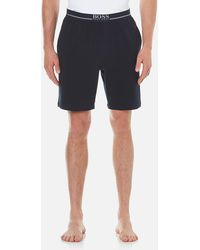 BOSS | Cotton Lounge Shorts | Lyst