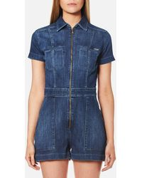 Guess - Sofia Overall - Lyst