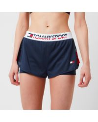 Tommy Hilfiger - Shorts With Inner Tights - Lyst