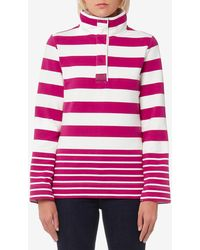 Joules - Saunton Classic Funnel Neck Sweatshirt - Lyst