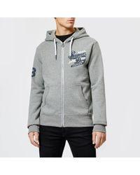 Superdry - Trademark Zip Hood Hoody - Lyst