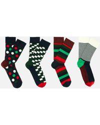 Happy Socks - Holiday Big Dot Gift Box - Lyst