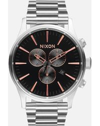 Nixon - The Sentry Chrono Watch - Lyst