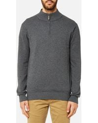 Joules - Half Zip Funnel Neck Jumper - Lyst