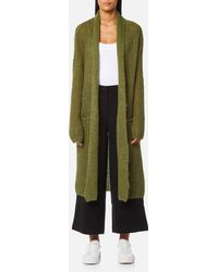 SELECTED - Jina Long Sleeve Knitted Cardigan - Lyst