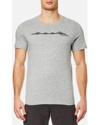 Craghoppers   Eastlake Linear Landscape Short Sleeve T-shirt   Lyst