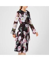 Ted Baker - Betssie Iguazu Midi Dress - Lyst