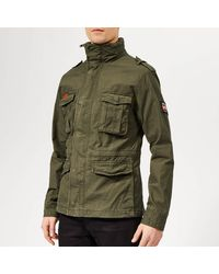 Superdry - Classic Rookie Military Jacket - Lyst