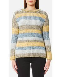 Barbour - Women's Hive Knitted Jumper - Lyst