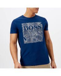 BOSS Orange - Tarit Printed T-shirt - Lyst