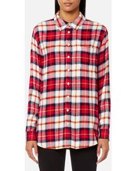 Joules - Laurel Long Line Shirt - Lyst