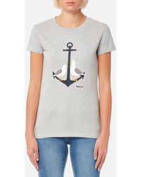 Barbour - Women's Whitmore Tshirt - Lyst