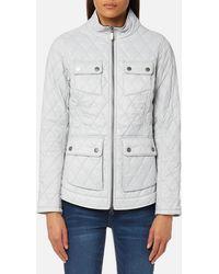 Barbour - Dolostone Quilt Jacket - Lyst
