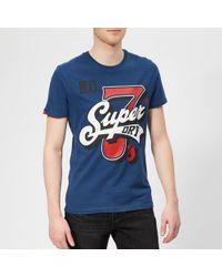 Superdry - Super 7 Logo T-shirt - Lyst