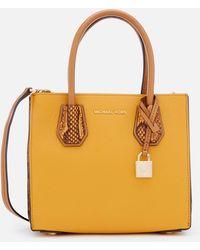 MICHAEL Michael Kors - Women's Mercer Medium Messenger Bag - Lyst