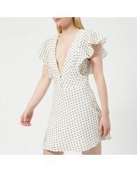 Bec & Bridge - Petit Miam Plunge Dress - Lyst