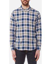 Tommy Hilfiger - Zac Check Long Sleeve Shirt - Lyst