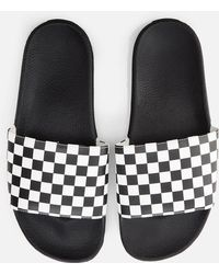 Vans - Checkerboard Slide Sandal - Lyst