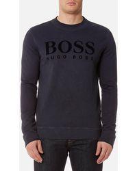 BOSS Orange - Men's Wlan Crew Neck Sweatshirt - Lyst