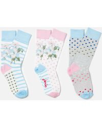 Joules - Brilliant Bamboo Womens Sock Set (x) - Lyst