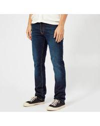 Nudie Jeans - Dude Dan Straight Leg Jeans - Lyst