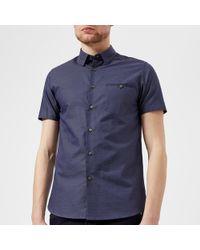 Ted Baker - Dotdots Short Sleeve Shirt - Lyst