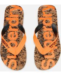 Superdry - Cork Flip Flops - Lyst